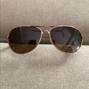 Oakley Tie Breaker rose gold sunglasses